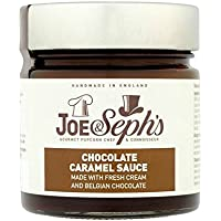 Joe & Seph's Chocolate Caramel Sauce 430g (Pack of 8)