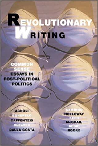 revolutionary writing common sense essays in post political  revolutionary writing common sense essays in post political politics werner bonefeld 9781570271335 com books
