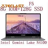 """Teclast F5ラップトップIntel Gemini Lake N4100クアッドコア8GB RAM 128GB SSD Windows10 360回転タッチスクリーン11.6 """"ノートPC"""