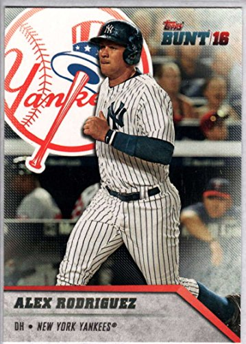 - 2016 Topps Bunt #112 Alex Rodriguez Yankees MLB Baseball Card NM-MT