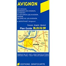 Plan Bleu Et or Avignon No. 807