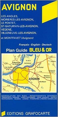 Plan de ville : Avignon, N°807 pdf