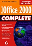 Microsoft Office 2000 Complete, Sybex Inc. Staff, 0782124119
