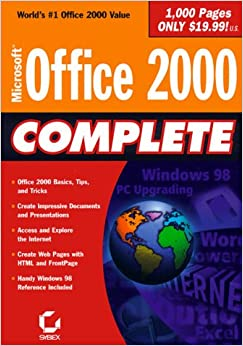 Book Microsoft Office 2000 Complete