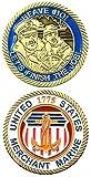 CHALLENGE COIN-UNITED STATES MERCHANT MARINE