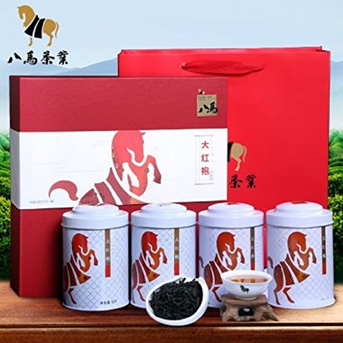 Oolong tea Wuyishan DaHongPao Tea Wuyi rock tea Chinese Bama tea 200g 武夷山大红袍 by Yichang Yaxian Food LTD.
