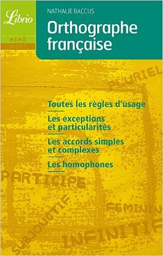 Livres gratuits en ligne Orthographe française epub, pdf
