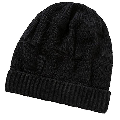 de 2017 Beanie gorros de punto Gorro KeepSa sombreros negro invierno Brandnew lana Unisex suave Mens Gorro Womens de caliente Aapgq