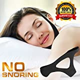 FacialShine Anti Snoring Chin Strap, Stop Snoring Device, Anti, Stop Snoring - Stop Snoring & Ease Breathing During Sleep, Effective Jaw Support, Comfortable & Adjustable