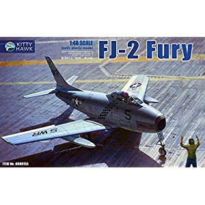 Kitty-Hawk-KH80155-148-FJ-2-Fury-Plastic-Model-Kit2019-Nov-Released