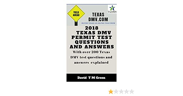 2018 Texas DMV Test Questions Ans Answers: Over 200 Texas