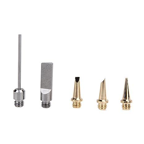 Starnearby 10 en 1 profesional butano soldador de gas kit de soldadura linterna