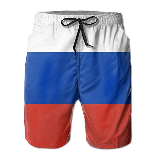 Flag Of Russia Leisure Cool 3D Print Ultra-Light Men Summer Surfing Quick-Drying Swim Trunks Beach Shorts Beach Pants With - Singapore Girls In Ukraine