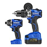 Kobalt 2-Tool 24-Volt Max Lithium Ion (Li-ion) Brushless Motor Cordless Combo Kit with Soft Case Review