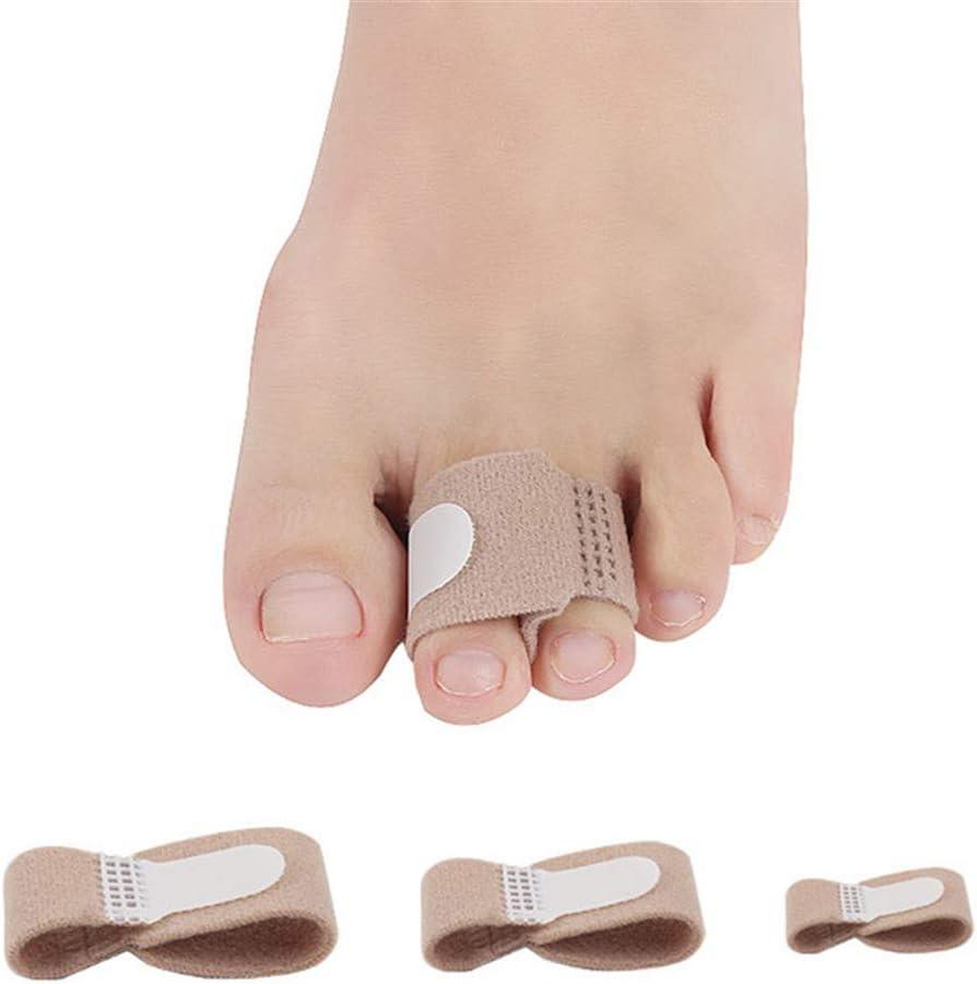 NHY 1 Pieza Separador Dedos los pies Ajustador Pulgar Huesos Corrector corrección Ortesis Pies Herramienta para el Cuidado los pies la Bursitis Pedicura para Dedos los pies,M