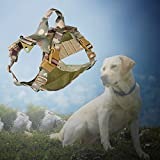 OUTRY Tactical Dog Vest, Front Range Dog Training Harness, Tactical Dog Training Vest, No-Pull Harness, One Size Fits Most
