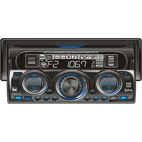 amazon com dual xdm7510 in dash cd mp3 wma receiver car electronics rh amazon com