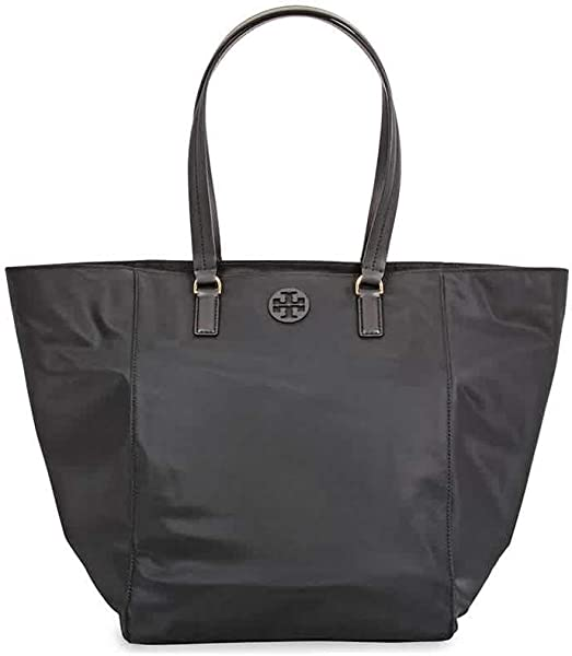 ba0342d33 Amazon.com: Tory Burch Women's Tilda Black Nylon Tote Handbag: Shoes