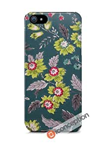 Vintage Floral Wallpaper - iPhone 4/4s Cover by icecream design