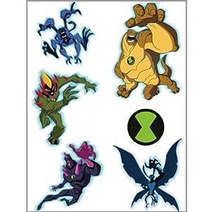 Ben 10: Alien Force Tattoos (2 sheets)