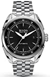 Bulova Men's Automatic Stainless Steel Casual Watch, Color Silver-Toned (Model: 63B193)