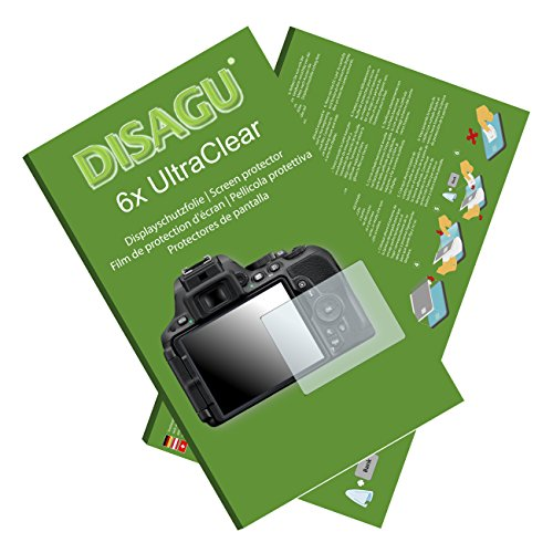 6x Ultra Clear Screen Protector for Nikon D5500