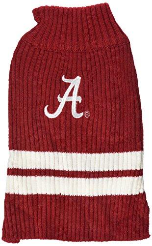 Pets First Collegiate Alabama Crimson Tide Pet Sweater, Small (Ncaa Dog Clothes)
