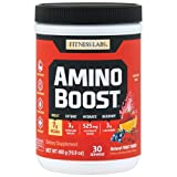 Fitness Labs AminoBoost® Fermented BCAA Powder Drink – 7g BCAAs, 3g Citrulline Malate, 3g L-Glutamine Plus Electrolytes – Build Muscle, Endurance, Hydration, Recovery* (30 Servings, Fruit Punch) Review