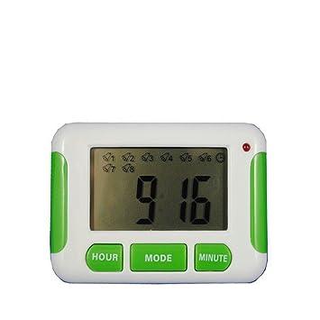 Sdfaw Countdown timer estudiantes mini reloj despertador digital,4