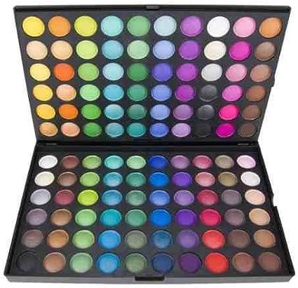 Paleta de 120 sombras de ojos. Kit completo para el maquillaje de ojos | Paleta maquillaje profesional by RIVENBERT: Amazon.es: Belleza