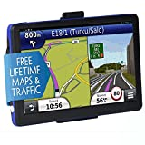 GPS Navigation for Car, MingAo 7 inch 8GB Lifetime Map Update Touchscreen Voice Reminding Vehicle GPS Navigator System with Car Charger, back Bracket