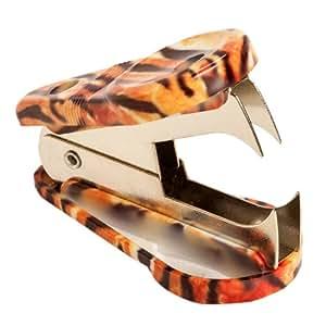 Tiger Animal Print Staple Remover