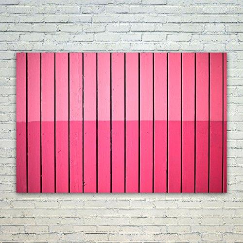 Westlake Art Poster Print Wall Art - Red Pink - Modern Pictu