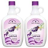 Village Naturals Bath Shoppe Lavender and Chamomile Milk Bath 28 Fl Oz. 2-pack