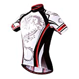WOSAWE Brand Professional Man Summer Sport Cycling Breathable Shirt Women Fashion Quick Dry Top Short Sleeve Jersey