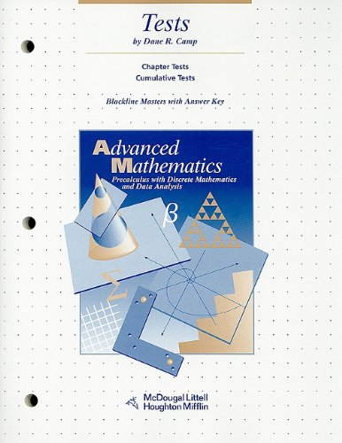 Advanced Mathematics Precalculus with Discrete Mathematics and Data ...