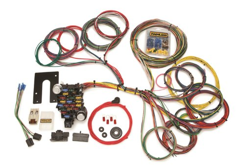 Painless 10204 Classic-Plus Customizable Pickup Chassis Harness (Key in Dash, 28 Circuits) by Painless (Image #1)