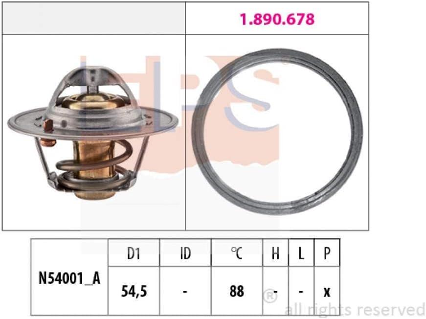K/ühlmittel Thermostat EPS 1.880.787 Thermostat K/ühlwasserthermostat Temperaturregler