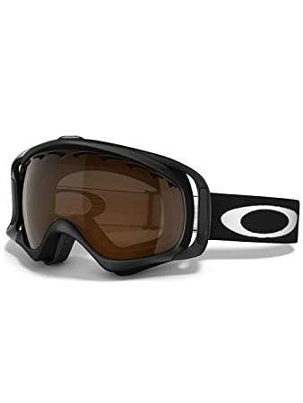 oakley black iridium goggles  Amazon.com : Oakley Crowbar Snow Goggles (Matte Black Frame/Black ...