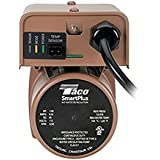 Taco 003-IQBC4 Smartplus Circulator, Includes Sensor and Cord, 1/2  Sweat Connections