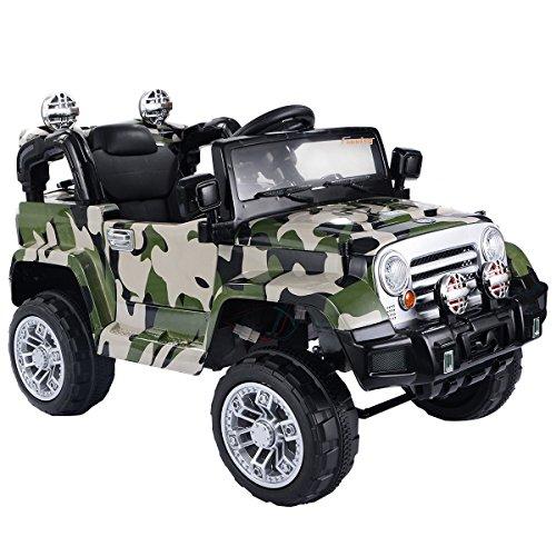 I Am A Rider Lamborghini Mp3 Song Download: Costzon 12V MP3 Kids Ride On Truck Jeep Car RC Remote