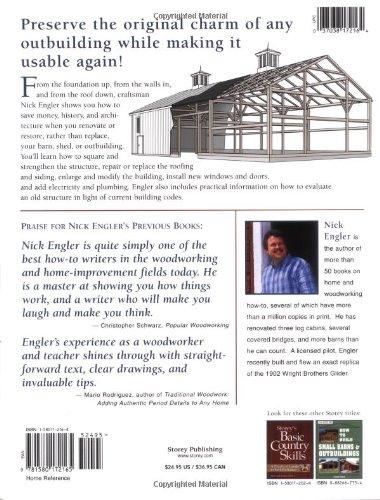 Renovating Barns, Sheds & Outbuildings