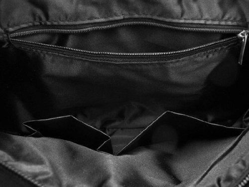 Things2Die4 , Damen Schultertasche schwarz schwarz