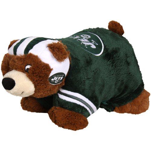 NFL New York Jets Mini Mascot Pillow (New York Jets Pillow)