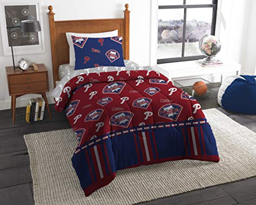 (Official PhiladelphiaPhillies Twin Bed in Bag Set)