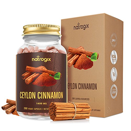 Natrogix Ceylon Cinnamon Capsules Serving