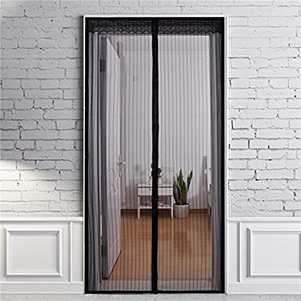 Magnetic Screen Door Mesh Curtain Mosquito Net Keeps Bugs Out