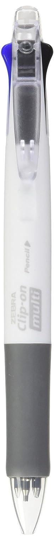 corps noir B4sa1-b Zebra Clip-On Multi multifonction Couleur Pen Clear Green Barrel