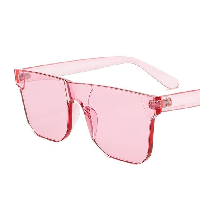 Aoligei Ozean-Sonnenbrille weiblichen Trend Sonnenbrillen ein Stück Candy Farbe Brille Korea Mode Sonnenbrillen qgwQC28VzA
