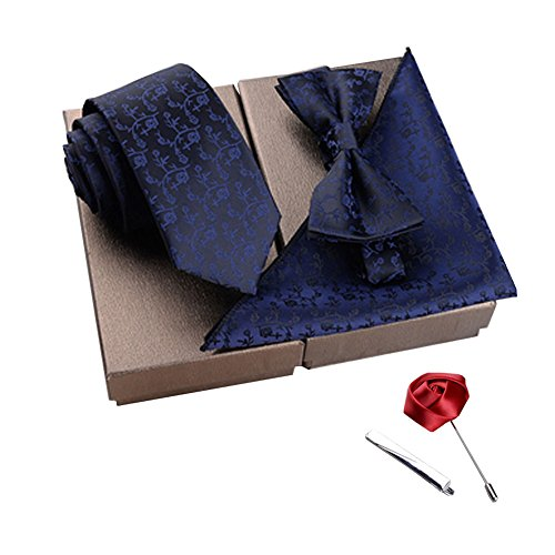 Set Men's Pocket Storehouse Square I Alien Party For Bow Brooches Fashionable Design Wear Tie xY5qZxwS6H